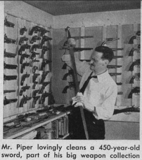 H. Beam Piper and his collection