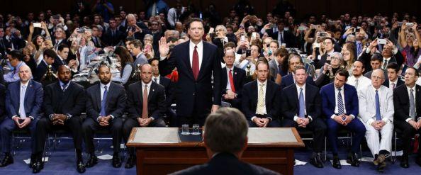 James Comey Sworn In