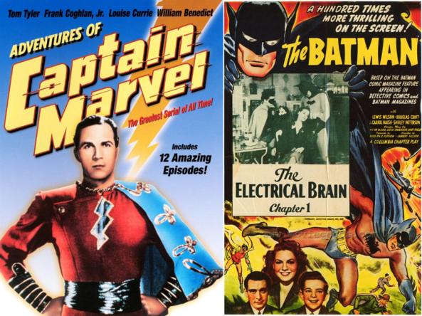 The Old Fan's Commentary On Captain Marvel andBatman