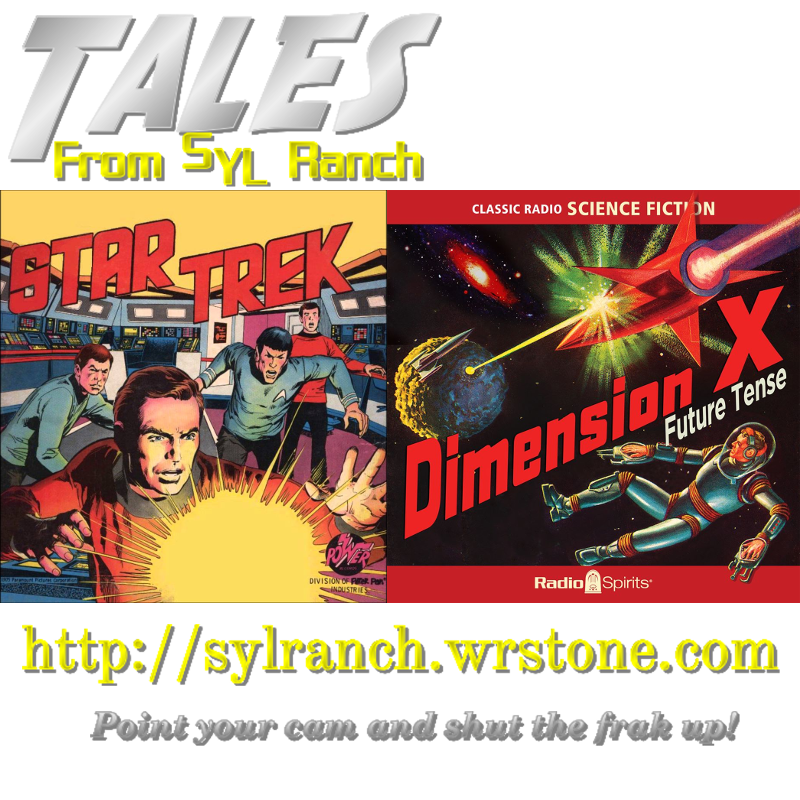 Star Trek and Dimension X Album Art