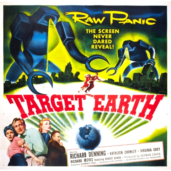 The Old Fan's Commentary On Target Earth – Tales From SYL Ranch – 2017-09-17
